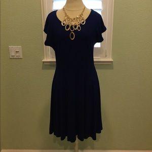 👗Gorgeous Donna Rico Cobalt Blue Dress